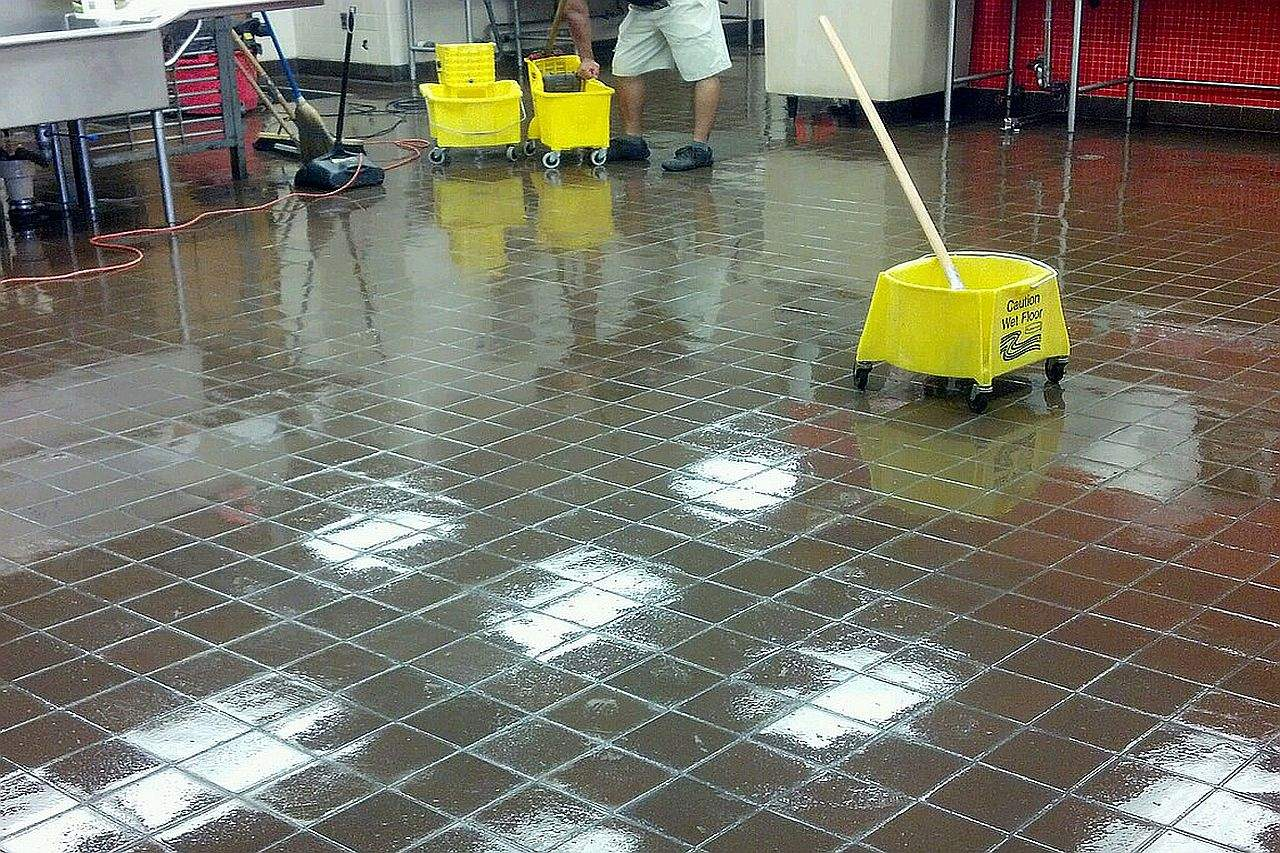 commercial janitorial services - Janitorial services